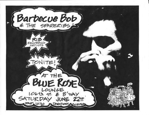 Barbecue Bob & the Spareribs, The Blue Rose