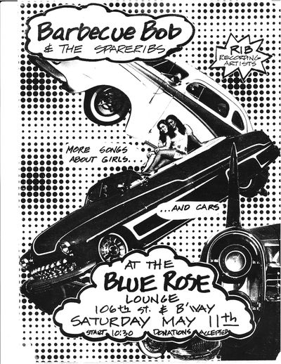Barbecue Bob & the Spareribs, The Blue Rose (girls and cars)