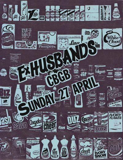 Ex-Husbands, CBGB (household goods)