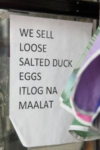 %22We sell loose salted duck eggs,%22 The Brothers Deli Store, Woodside, Queens