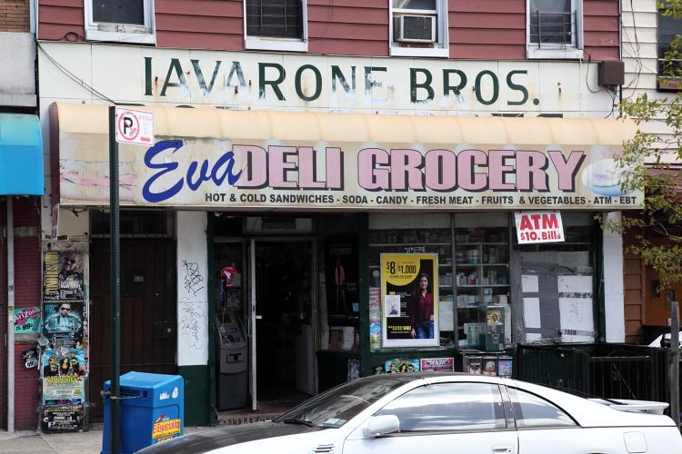 Eva Deli Grocery, previously the site of an Iavarone Brothers market, Bushwick, Brooklyn