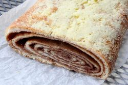 Cinnamon strudel, Isaac's Bakery, Midwood, Brooklyn