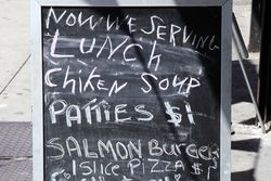 %22Now we serving lunch,%22 Flatbush, Brooklyn