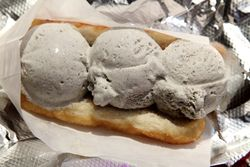 Black sesame Age Ice, Japadog, Saint Marks Place, Manhattan