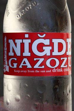 Nigde Gazozu raspberry soda, Turkiyem, Sunnyside, Queens