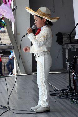 Performer, Festival de la Pupusa, West New York, New Jersey