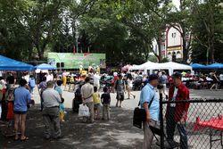 Myanmar Chinese Association of New York Summer Water Festival, Sara D Roosevelt Park, Manhattan