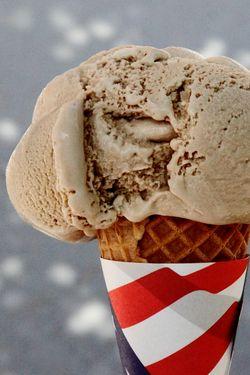 Root beer ice cream, Blue Marble Ice Cream, Smorgasburg, Dumbo, Brooklyn