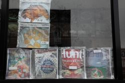 Window menu, including wholesale items, Flatbush, Brooklyn