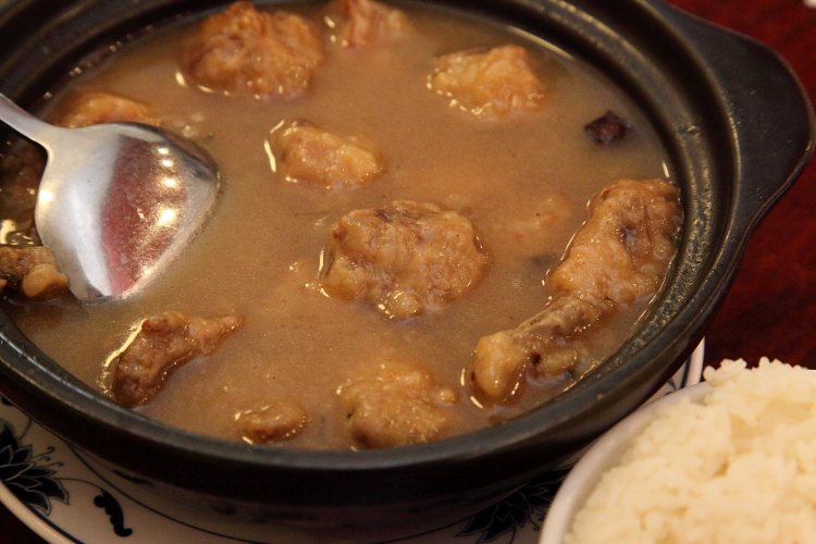 Pork ribs kou wan, Uncle Zhou, Elmhurst, Queens