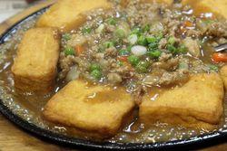 Sizzling tofu, Taste Good, Elmhurst, Queens