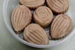 Taro-coconut milk sweets, Sugar Club, Elmhurst, Queens