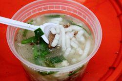 Hakka rice noodle soup, Passport to Taiwan, Union Square, Manhattan