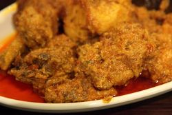 Ayam rendang, Mamak House, Flushing, Queens