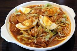 Mee rebus, Mamak House, Flushing, Queens