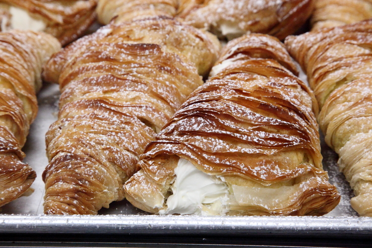 Lobster tails, Court Pastry Shop, Cobble Hill, Brooklyn