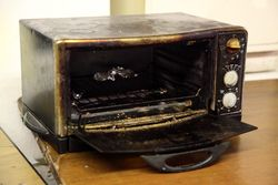 Break-room toaster-oven, East Village, Manhattan