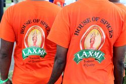 Jerseys for a crew sponsored by Laxmi House of Spices, Hong Kong Dragon Boat Festival, Flushing Meadows Corona Park, Queens