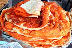 %22Pakistani pizza,%22 Gourmet Sweets, Pakistan Independence Day Mela, Kensington, Brooklyn