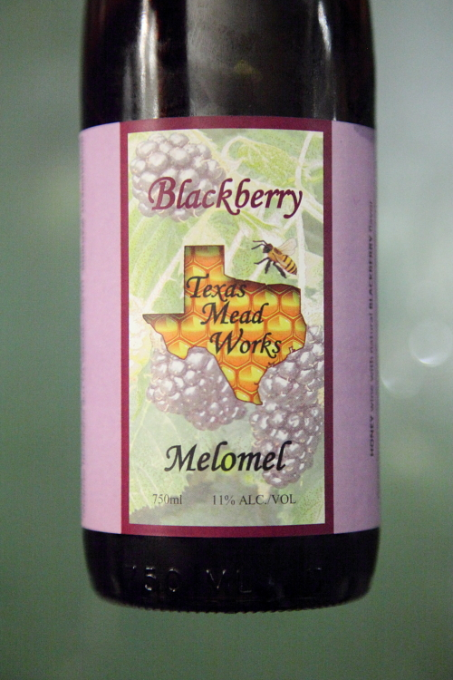 Texas Mead Works blackberry melomel, Alimentary Initiatives Future Food Salon, West 26th Street, Manhattan