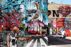 Ice-cream-cone art, 5Pointz Aerosol Art Center, Long Island City, Queens