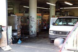 Idle food carts, 5 Pointz Aerosol Art Center, Long Island City, Queens