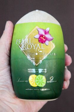 Pearl Royal coconut water, Old Castle Fresh Farm, Sunnyside, Queens