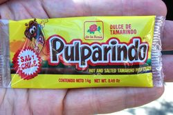 Pulparindo from Mexico Lindo Grocery, Second Avenue, New York