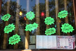 Window menu, Ninh Kieu, Chrystie Street, Manhattan