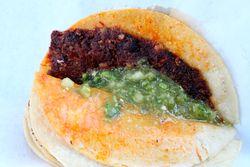 Tacos de canasta, Viva La Comida festival, Elmhurst Queens
