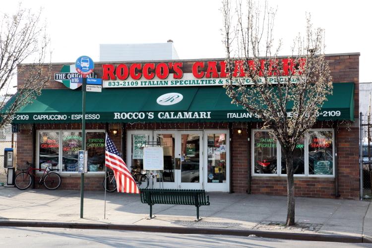 Rocco's Calamari, Borough Park, Brooklyn