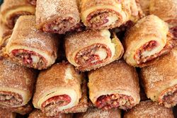 Raspberry-walnut rugelach, Nita's European Bakery, Sunnyside, Queens