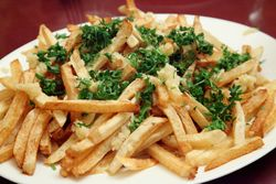 French fries, Vostok, Borough Park, Brooklyn