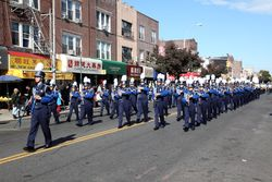 Fort Hamilton High School marching band, Columbus Parade, Bensonhurst, Brooklyn