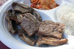Short ribs, Korean Harvest Festival, Flushing Meadows Corona Park, Queens