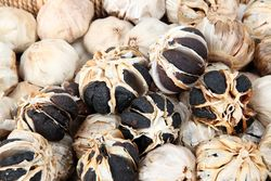 Black garlic, Korean Harvest Festival, Randall's Island, Manhattan