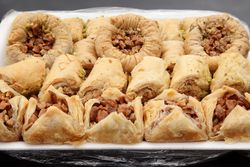 Syrian sweets, Luna Bakery & Sweets, Paterson, New Jersey