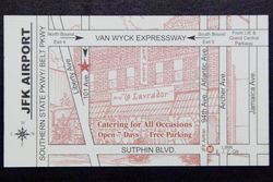 Business card, O Lavrador, Jamaica, Queens