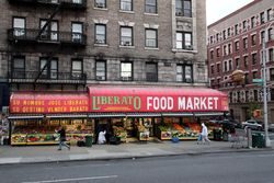%22Su nombre Jose Liberato, su destino vender barato,%22 Broadway, Manhattan