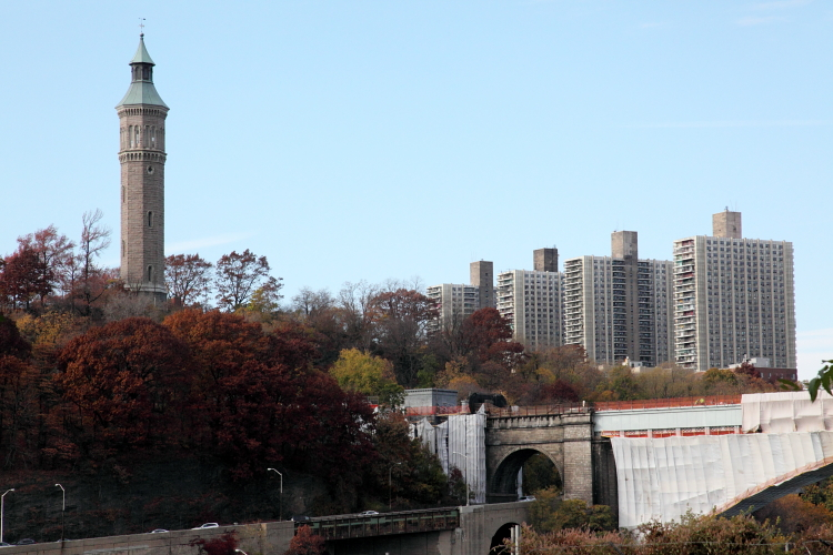 High Bridge Water Tower, Manhattan