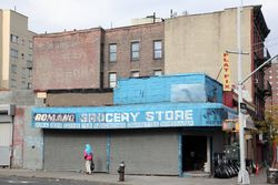 Former grocery store, Morrisania, Bronx