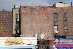 Surviving signage, Morrisania, Bronx