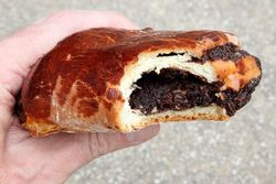 Poppy seed pastry, Kiev Bakery, Homecrest, Brooklyn