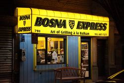 Bosna Express, Ridgewood, Queens
