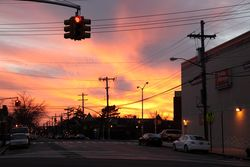 Sunset, Canarsie, Brooklyn