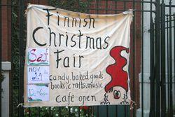 Finnish Christmas Fair, Saint John's Lutheran Church, Christopher Street, Manhattan