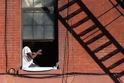 Window seat, Bedford-Stuyvesant, Brooklyn