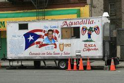 Puerto Rican snack van, Longwood, Bronx