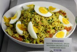 Kedgeree, Mermaid's Garden, Prospect Heights, Brooklyn