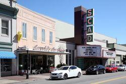 Leopold's Ice Cream and the Trustees Theater, Savannah, Georgia
